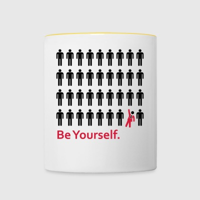 Be Yourself - Kaksivärinen muki