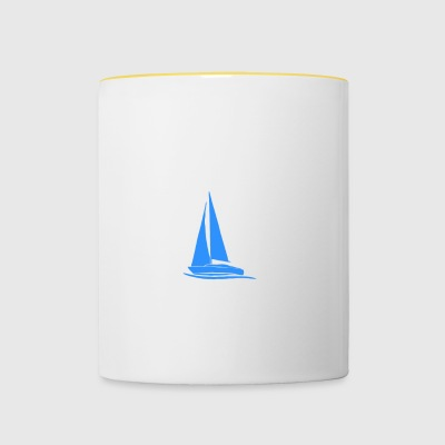 My boat - My rules - Contrasting Mug