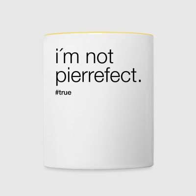i'm not pierrefect - Contrasting Mug