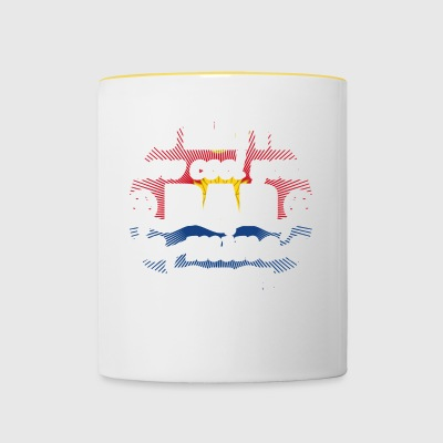 no matter cool dad father poison Kiribati png - Contrasting Mug