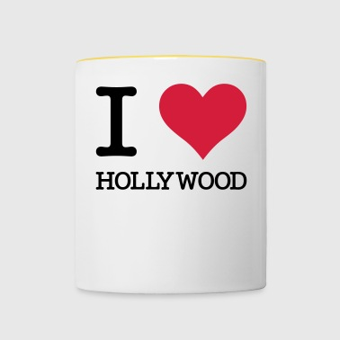 Amo Hollywood - Tazze bicolor