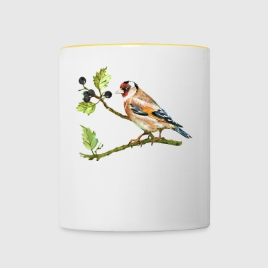 goldfinch - Tofarvet krus