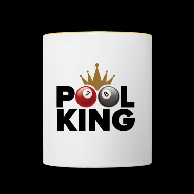 Pool king - Mug contrasté
