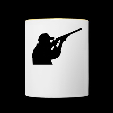 The hunter - Contrasting Mug