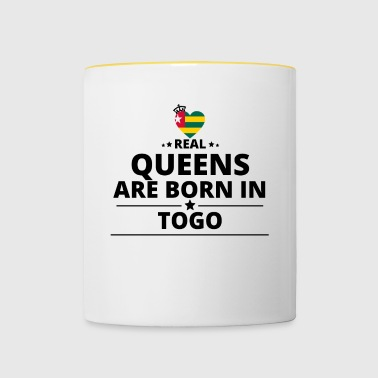 DON DE QUEENS AMOUR TOGO - Tasse bicolore