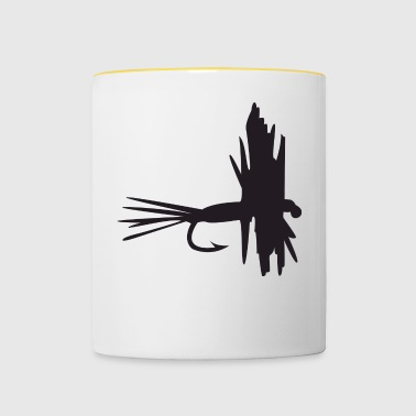 fly fishing - Contrasting Mug