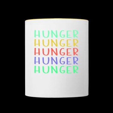 Shop Colorful Hunger Design - Tvåfärgad mugg