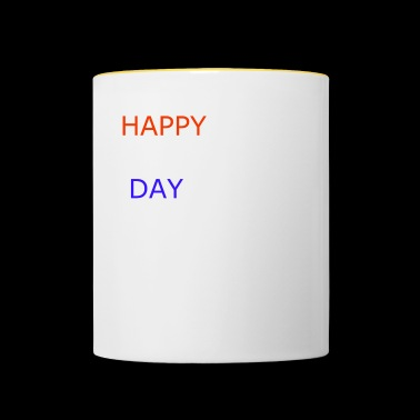 Happy Day - Mug contrasté