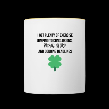Plenty of exercise - Contrasting Mug
