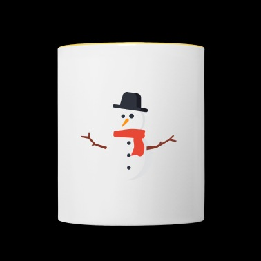 OMG Chill gift for Chill People - Contrasting Mug