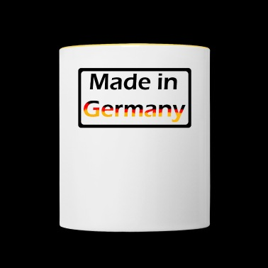 Made in Germany - Kubek dwukolorowy