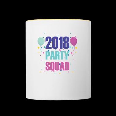 Party Squad present till Party People - Tvåfärgad mugg