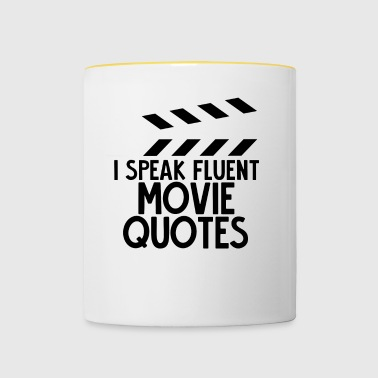 Sarcasme - Film - Quotes - Gift - Mok tweekleurig