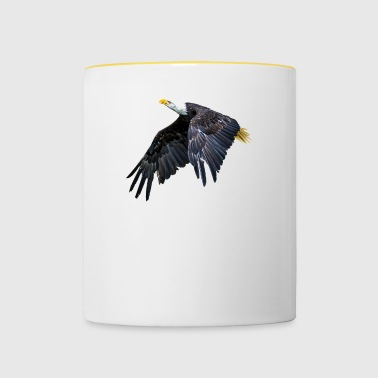 Bald Eagle - Tofarvet krus