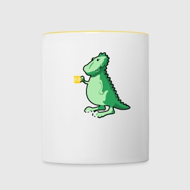 Tea-Rex - For te elskere - Tofarget kopp