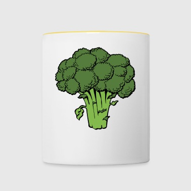 broccoli - Mok tweekleurig