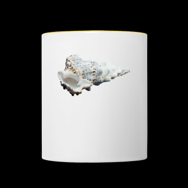 A shell that reminds of the holiday - Contrasting Mug