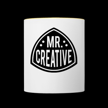 MR CREATIVE - Mug contrasté