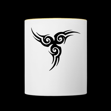 Tribal tattoo - Contrasting Mug