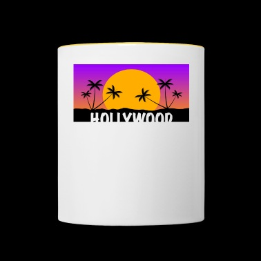 HOLLYWOOD Shirt - Kubek dwukolorowy