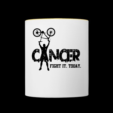 Cancer. Fight it. Today - Contrasting Mug