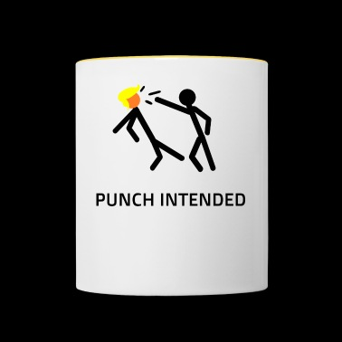 PUNCH INTENDED - Contrasting Mug