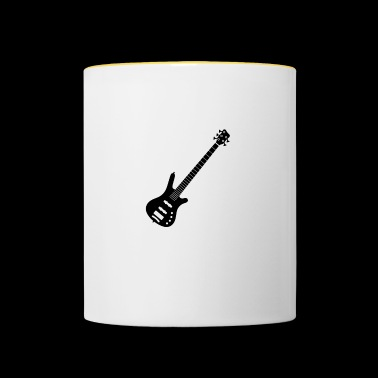 The Best Bass Player - Contrasting Mug