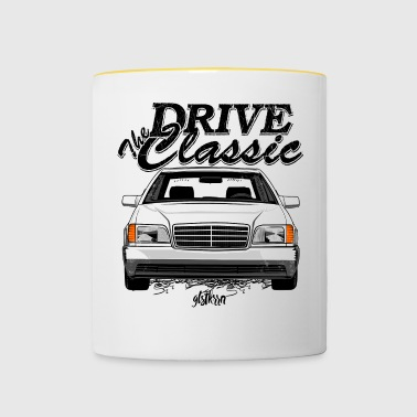 W140 drive the classic - Contrasting Mug