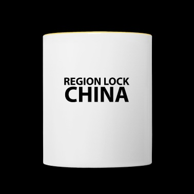 Region lock china - Contrasting Mug