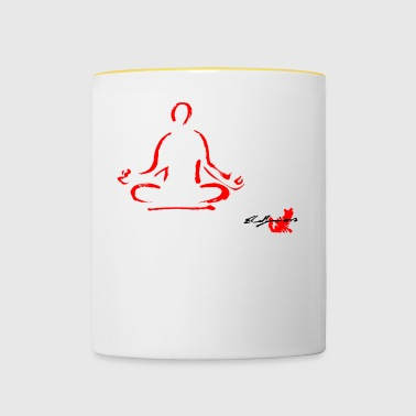 RED YOGA, YOGA, MEDITATION, MEDITATION TECHNIQUE - Tasse bicolore
