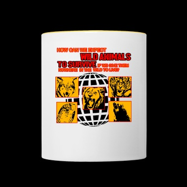 Wild Animals to Survive! - Contrasting Mug