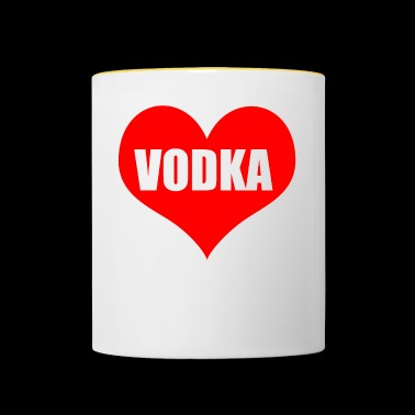 vodka - Tofarget kopp