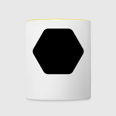 SHAPES SHAPES CLEAN - Contrasting Mug
