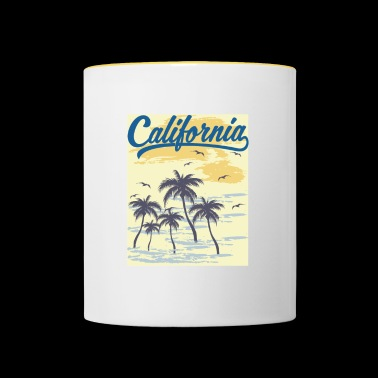 California Transparent - Tvåfärgad mugg