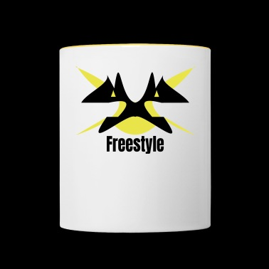 Freestyle - Mok tweekleurig