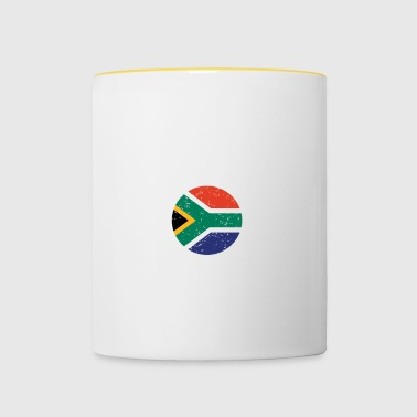 beauty comes from SOUTH AFRICA png - Contrasting Mug