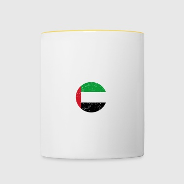 beauty comes from UNITED ARAB EMIRATES png - Contrasting Mug