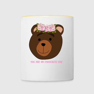 You are my favorite one - Contrasting Mug