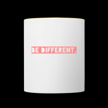 be different - Contrasting Mug