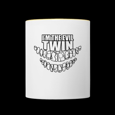 In the evil twin - Contrasting Mug