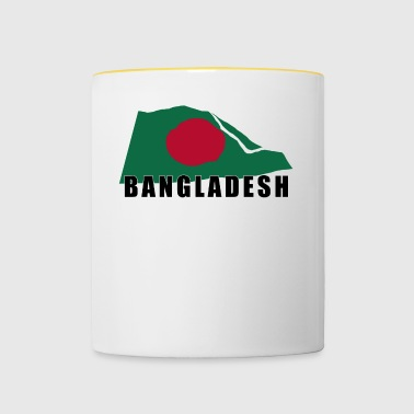 Movement of The Bangladesh Flag - Contrasting Mug