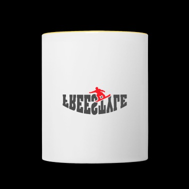 Snowboard Freestyle - Snowboard Freestyle - Mug contrasté