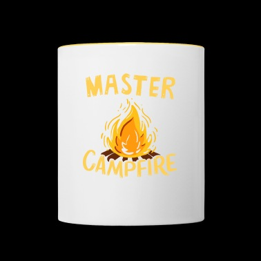 Master of the Campfire - Tasse zweifarbig