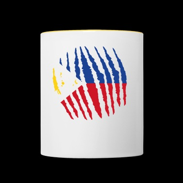 Claw claw home origin Philippines png - Contrasting Mug
