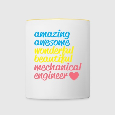 AMAZING AWESOME - Tasse bicolore