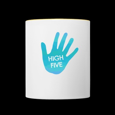 High Five - Mug contrasté