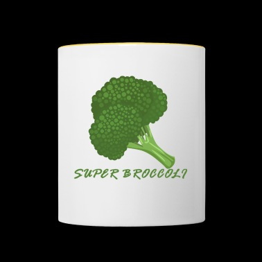 Super broccoli - Mok tweekleurig