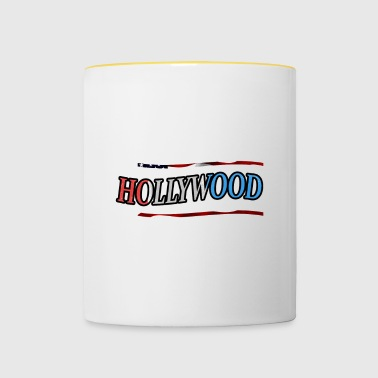 Hollywood - Kubek dwukolorowy