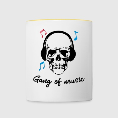 Gang Of Music - Mok tweekleurig