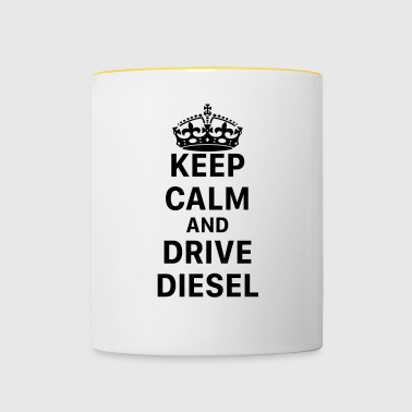 Keep Calm And Drive Diesel - Diesel gate M / W - Mok tweekleurig